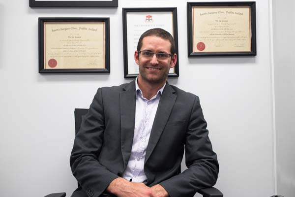 Dr Benjamin McGrath, Orthopaedic Surgeon